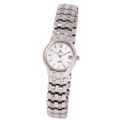 ASTRON 5006-8 analóg női karóra, ezüst színű fémötvözet tok, ezüst színű fémötvözet szíj/csat, ezüst színű számlap, keményített ásványüveg, quartz szerkezet, cseppmentes vízállóság