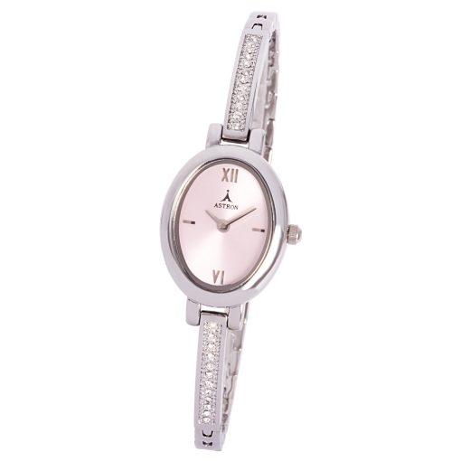 ASTRON 5468-6 női karóra, ezüst színű fém tok, ezüst színű fémcsat, ezüst színű számlap, keményített ásványüveg, quartz szerkezet, cseppmentes vízállóság